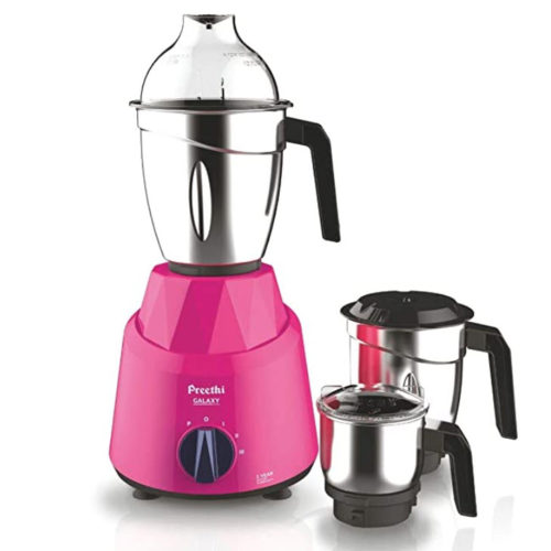 Preethi Galaxy 750W Mixer Grinder Review- Detailed